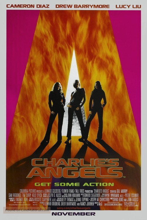 Charlie's Angels - Advance poster