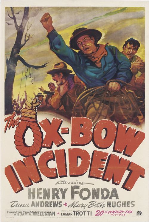 The Ox-Bow Incident - Theatrical movie poster