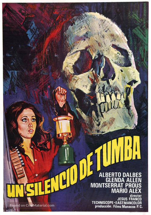 Silencio de tumba, Un - Spanish Movie Poster