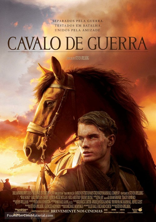 War Horse - Portuguese Movie Poster
