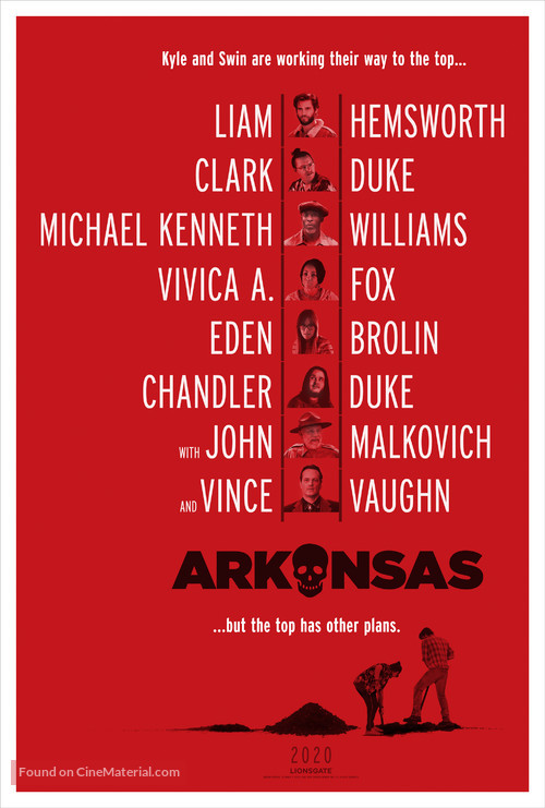 Arkansas - Movie Poster
