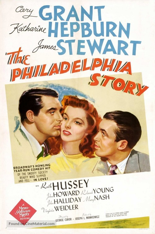 The Philadelphia Story - Movie Poster
