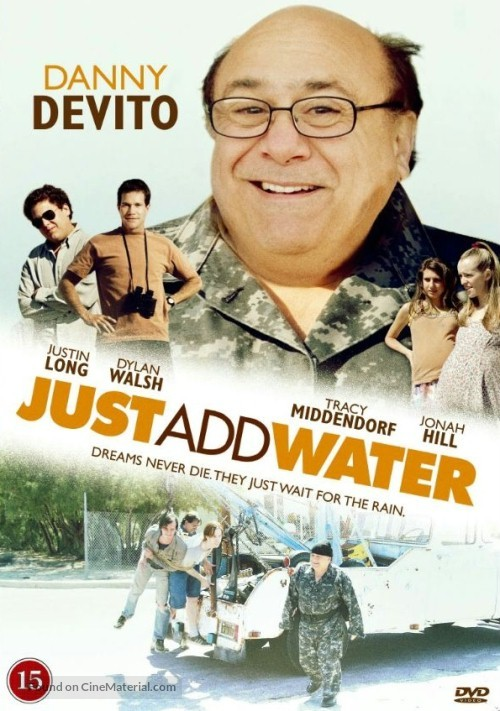 Just Add Water - Danish DVD cover