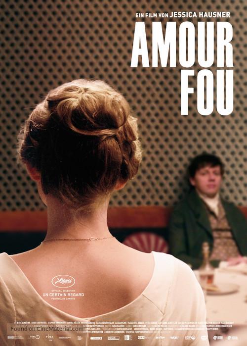 Amour fou - Austrian Movie Poster