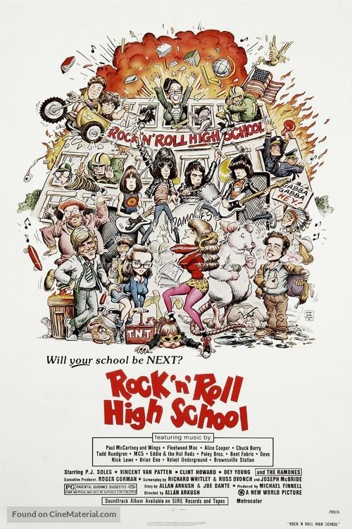 Rock 'n' Roll High School - Movie Poster