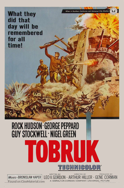 Tobruk - Movie Poster