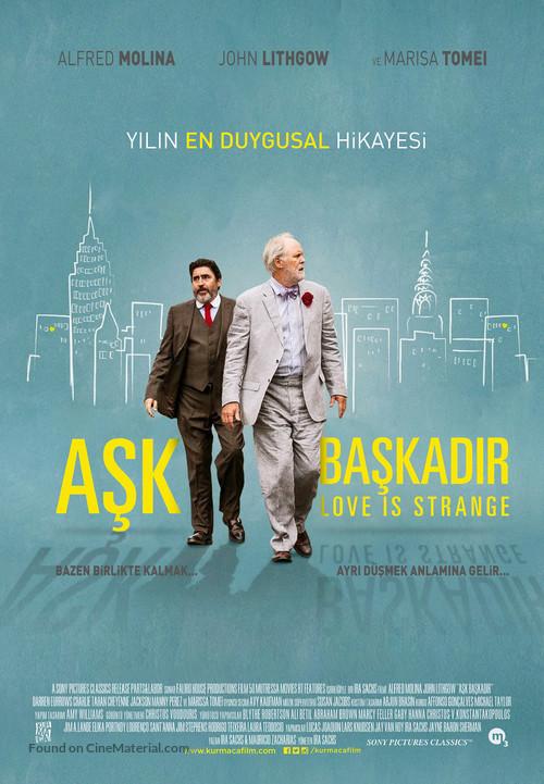 Love Is Strange - Turkish Movie Poster