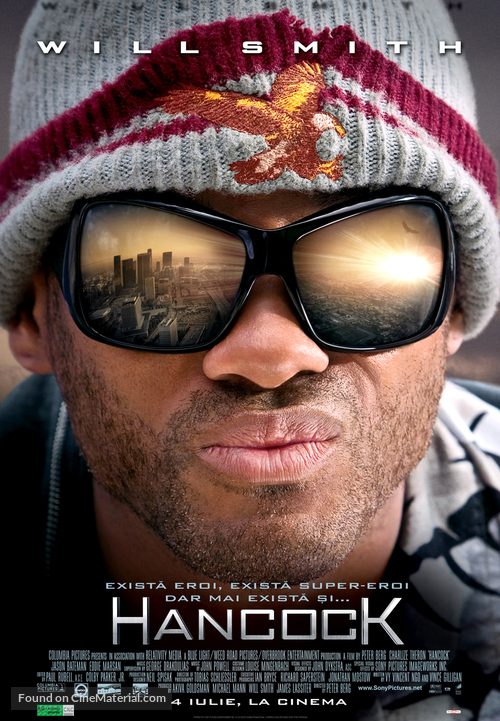 Hancock - Romanian Movie Poster