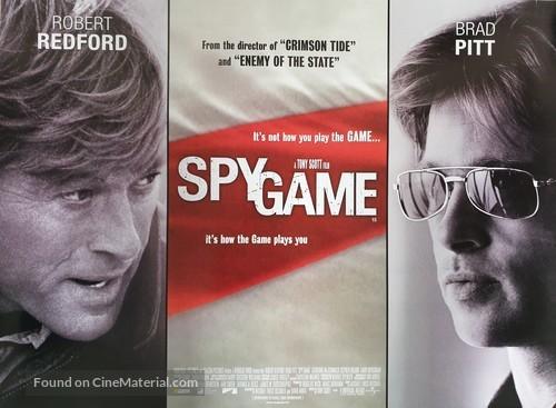 Spy Game 2001 British Movie Poster