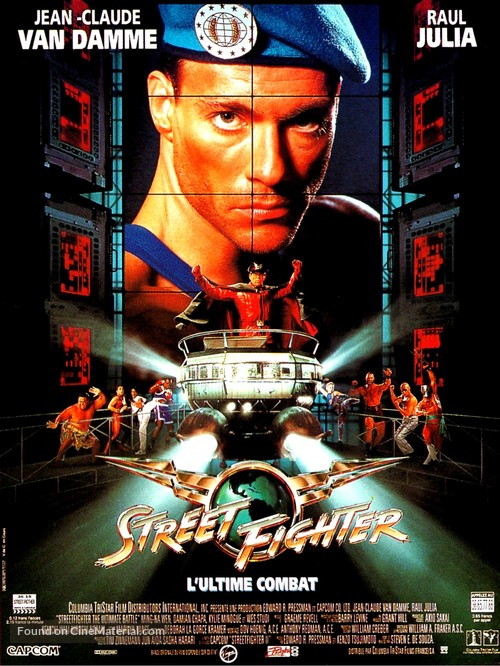 Street Fighter - French Movie Poster