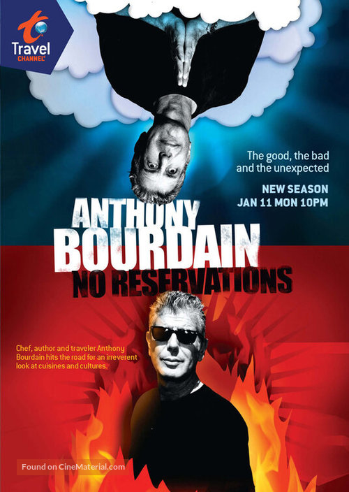 """""""Anthony Bourdain: No Reservations"""" - Movie Poster"""