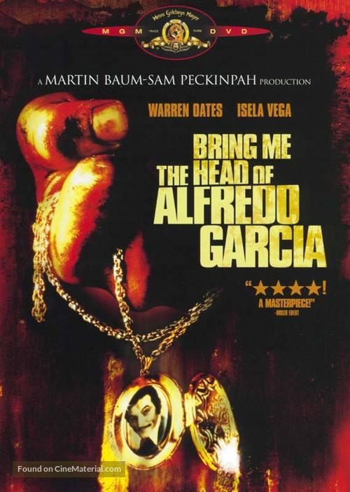 Bring Me the Head of Alfredo Garcia - DVD movie cover