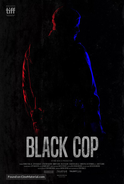 black cop canadian movie poster