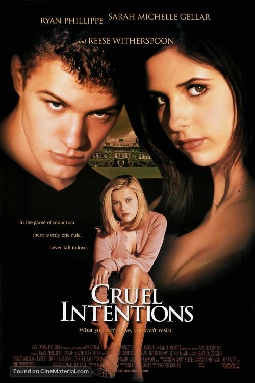 Cruel Intentions - Movie Poster