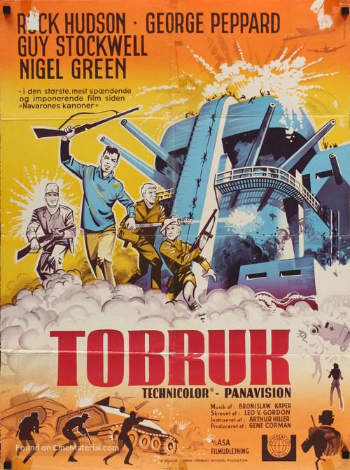 Tobruk - Danish Movie Poster