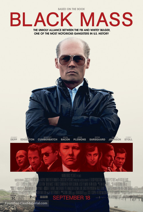 Black Mass - Movie Poster