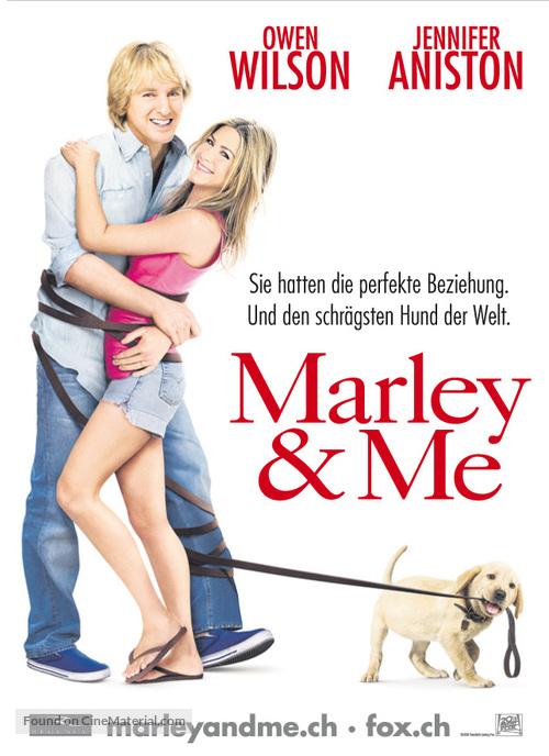 Marley & Me - Swiss Movie Poster