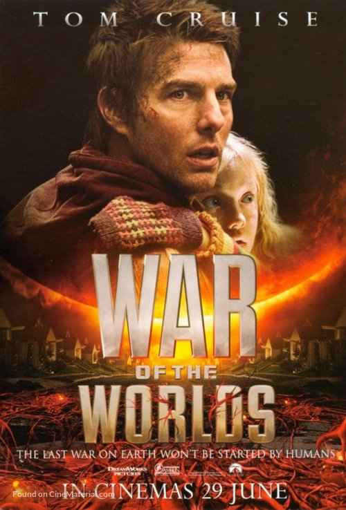 War of the Worlds - Malaysian Movie Poster