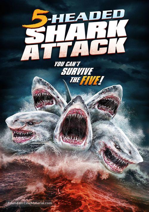 5-Headed Shark Attack - DVD movie cover