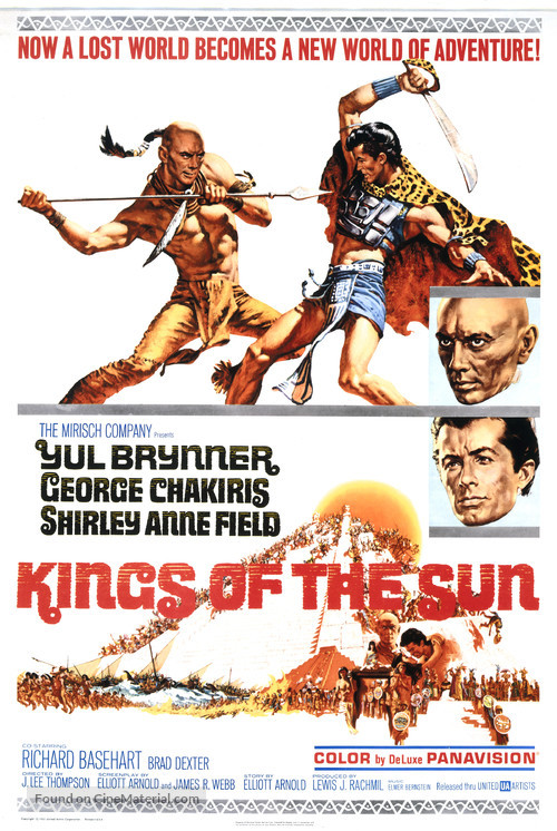 Kings of the Sun - Movie Poster