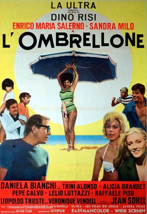 L'ombrellone - Italian Movie Poster