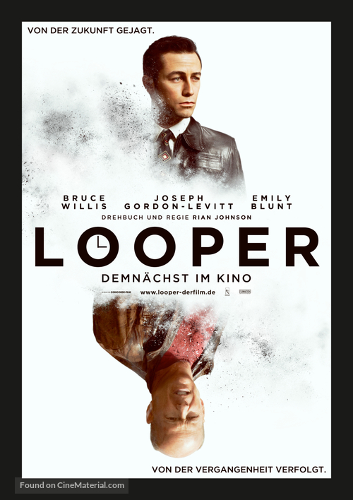 Looper - German Movie Poster