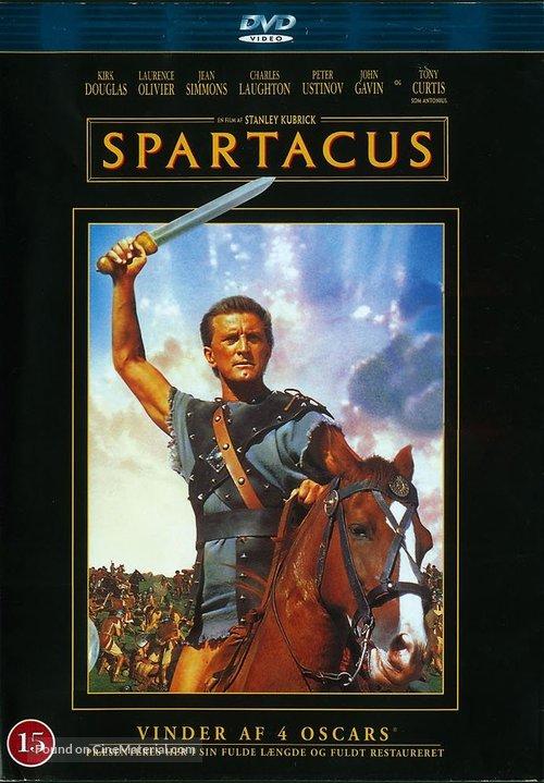 Spartacus - Danish Movie Cover