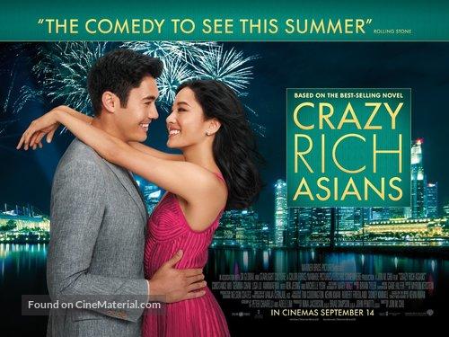 Crazy Rich Asians 2018 British Movie Poster