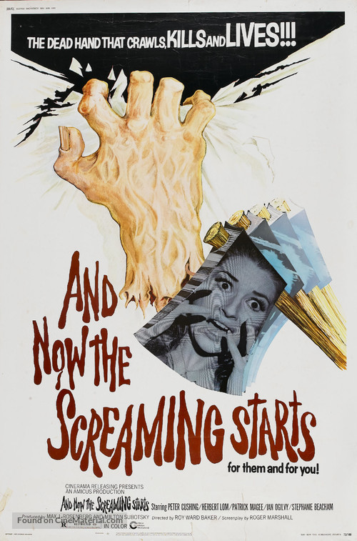 And Now the Screaming Starts! - Movie Poster