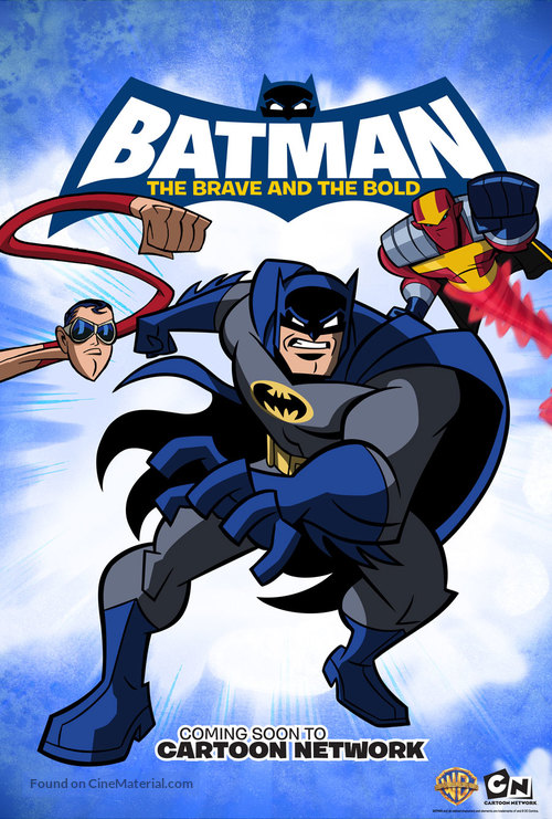 """""""Batman: The Brave and the Bold"""" - Movie Poster"""