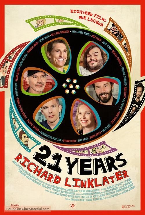 21 Years: Richard Linklater - Movie Poster