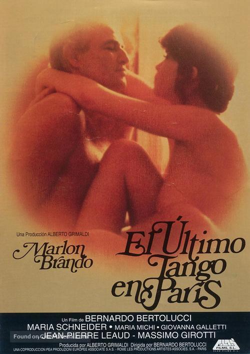 Ultimo tango a Parigi - Spanish Movie Poster