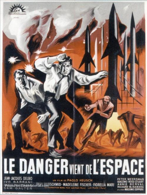 La morte viene dallo spazio - French Movie Poster