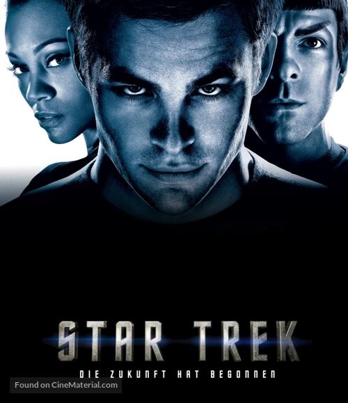 Star Trek - German Blu-Ray cover