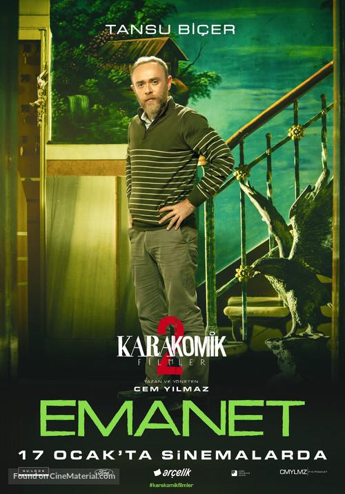 Karakomik Filmler: Emanet - Turkish Movie Poster