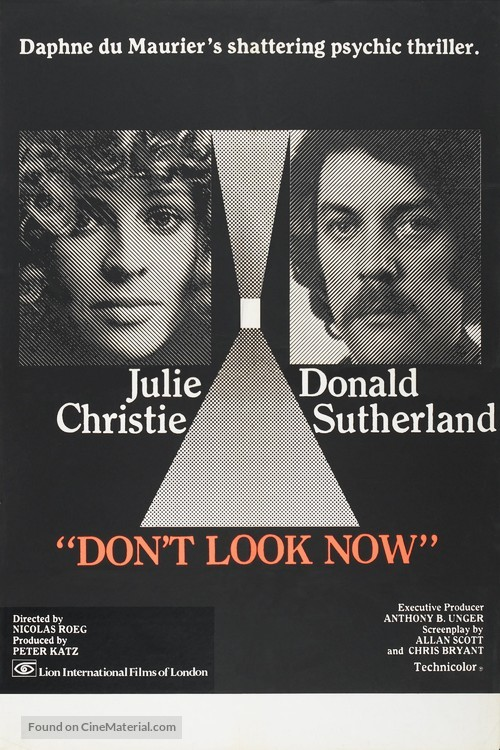 Don't Look Now - British Movie Poster