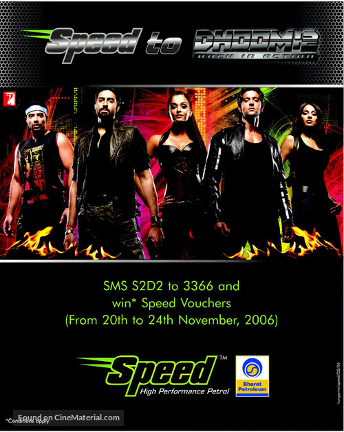 Dhoom 2 - Movie Poster
