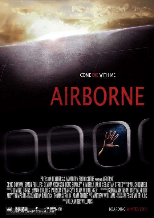 Airborne - British Movie Poster