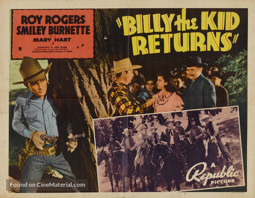 Billy the Kid Returns - Movie Poster
