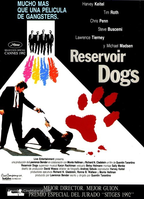 Reservoir Dogs - Spanish Movie Poster