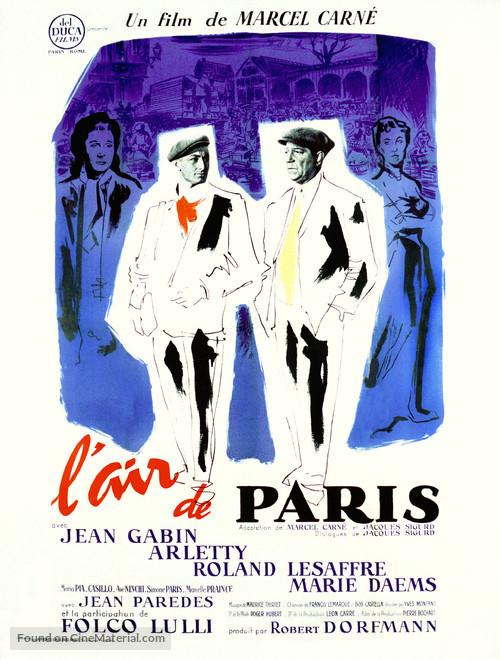 Air de Paris, L' - French Movie Poster