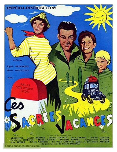 Ces sacrées vacances - French Movie Poster