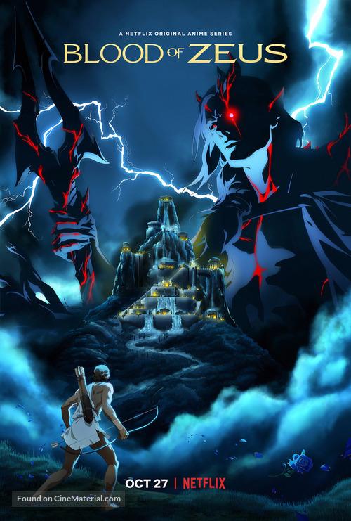 "Blood of Zeus"" (2020) movie poster"