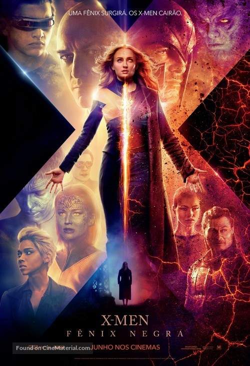 Dark Phoenix - Brazilian Movie Poster