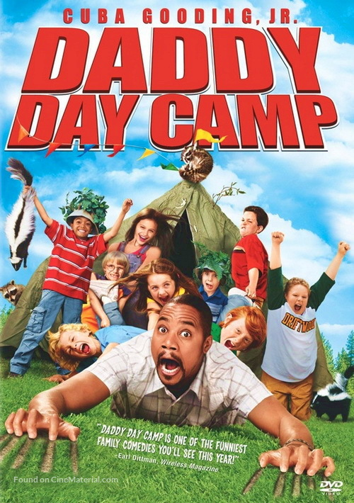 Daddy Day Camp - DVD movie cover
