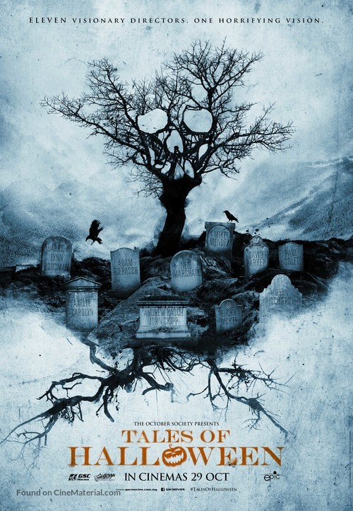 Tales of Halloween - Malaysian Movie Poster