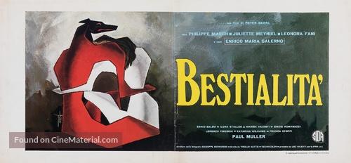 Bestialità - Italian Movie Poster