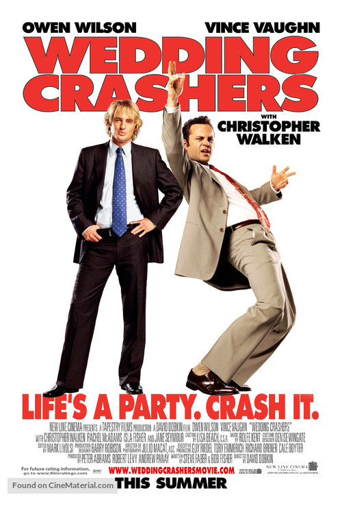 Wedding Crashers - Theatrical movie poster