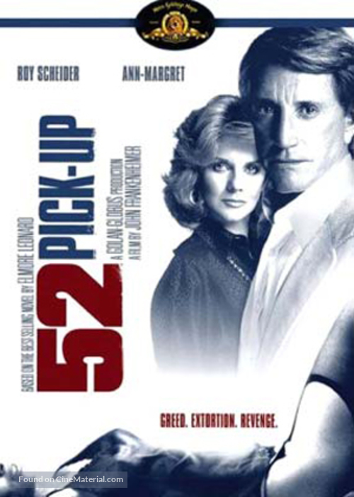 52 Pick-Up - DVD movie cover