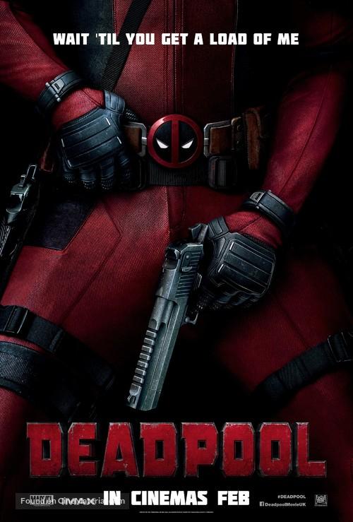 Deadpool - British Movie Poster